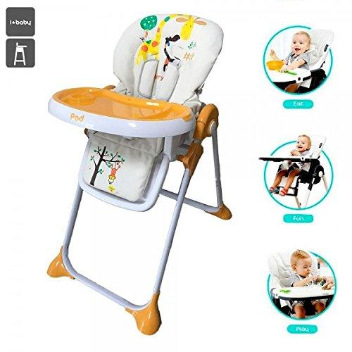 Star Ibaby Pod Giraffe - Trona para bebes reclinable