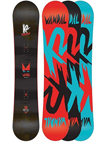 K2 Vandal Wide Freestyle Snowboard