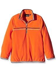 CMP - Camiseta de forro polar para niño, color naranja, tamaño 4 años
