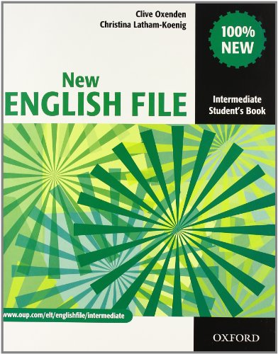 New english file. Intermediate. Student's book-Workbook-Key-Entry checker-My digital book. Con espansione online. Per le Scuole superiori. Con CD-ROM