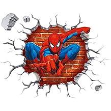 Suchergebnis Auf Amazon De F 252 R Spiderman Wandtattoo