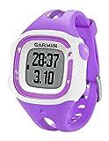 Garmin Forerunner 15 - Reloj deportivo con GPS y monitor de actividad, color violeta y blanco, talla S