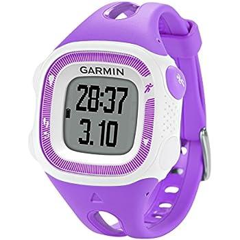Garmin - 010-01241-72 - Forerunner 15 - Montre de Running avec GPS Intégré - Violet/Blanc