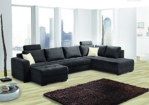 HTI-Living Wohnlandschaft Antego Sofa, Wohnlandschaft, Polstergarnitur, Couch, Couches, Schlafsofa