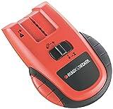 Black+Decker Metall- und Stromdetektor (9V, Suchgerät; ortet Metall (bis 50 mm), Kupfer (bis 25 mm) und spannungsführende Leitungen (bis 50 mm), verschiedene Modi, Batterietyp: 9V Alkaline) BDS200