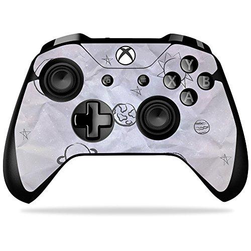 MightySkins Skin/Aufkleber kompatibel mit Microsoft Sticker, 100 Kids Outer Space Microsoft Xbox One X Controller