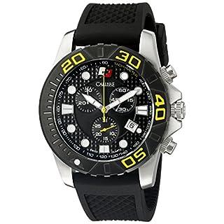 Calibre Men's SC-4A2-04-002 Akron Analog Display Quartz Black Watch
