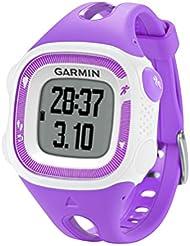 Garmin - 010-01241-32 - Forerunner 15 - Montre de Running avec GPS Intégré - Violet/Blanc