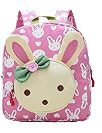 Ruiying 3D Bunny Babyrucksack Kindergartenrucksack Kindergartentasche Backpack Schultasche Kinder Mädchen (Rosa) preisvergleich bei kinderzimmerdekopreise.eu
