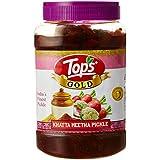 Tops Khatta Meetha Pickle Pet Jar, 1.1kg