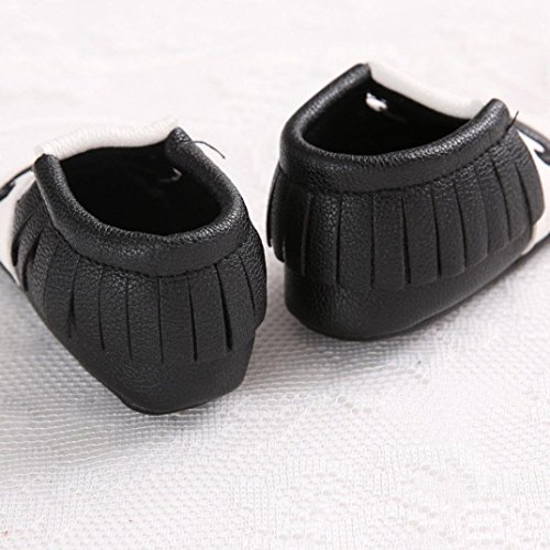 Amlaiworld , Baby Mädchen Lauflernschuhe Beige schwarz 11 schwarz