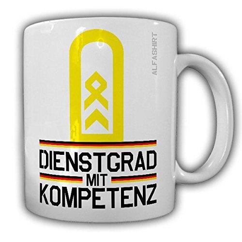 Tasse Stabsbootsmann Dienstgrad Bundeswehr StBtsm Militär Rangabzeichen Abzeichen Kaffee Becher #20709