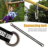 dream-cool Cinghia di Collegamento Swing per Bambini - Multi-Funzionale Highlight Reflective Rope Hanging Pull Rope per Yoga Fitness Sandbag (55cm/21.65in)