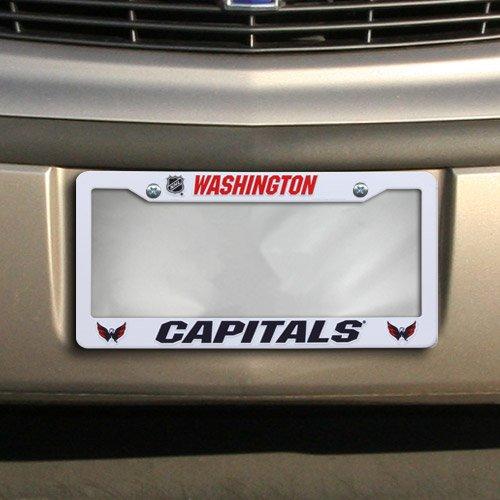 Unbekannt NHL Washington Hauptstädte Kunststoff Teller Bilderrahmen, 30,5x 15,2cm weiß Washington Nationals-laser