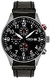 Astroavia Orologio da uomo Cronografo Nero Chronograph N57L4