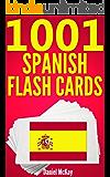 1001 Spanish Flash Cards : Spanish Vocabulary Builder (English Edition)