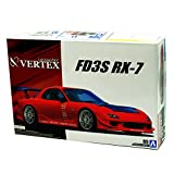 alles-meine.de GmbH Mazda RX-7 FD3S Coupe Rot Tuning 1991-2002 052396 Kit Bausatz 1/24 Aoshima Modell Auto Modell Auto