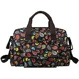 ECOSUSI Multifunctional Mummy Handbag Designer Baby Changing Bags 5pcs Black