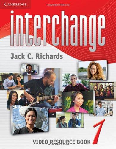Interchange 3rd Level 1 Video Resource Book
