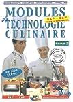 Modules de technologie culinaire BEP-...