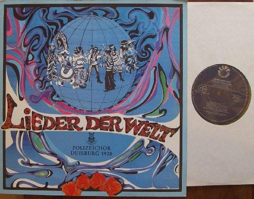 LIEDER DER WELT Polizeichor Duisburg 1928 Bildhülle Klappcover 1978 LIFE RECORDS # St 351-7648 50 Jahre Polizeichor Duisburg