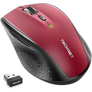 ee4bb3e162e Amazon.in: Buy Tecknet M002 Nano Cordless Optical Mouse (Grey ...