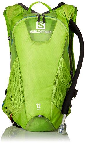 Salomon Zaino Agile 12 Set, Colore Granny Green, 45 x 22.5 x 13.5 cm, 12 Litri