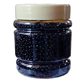 #7: eshoppee black color 8/0 glass beads, seed beads pot 200 gm (approx 6000 beads) for jewellery, art and craft making diy project kit (black)