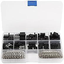 Ils - 610Uds Kit de Conectores de la Cabeza del Perno del Puente del Alambre de