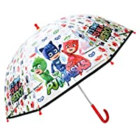 PJ MASKS 4842 Time to be a Hero Junior Dome Umbrella, White, 45 cm
