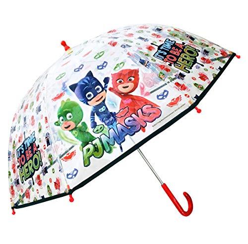 al Dome Shape Poe Transparent Folding Umbrella, 45 cm, White Regenschirm, Weiß (White) ()