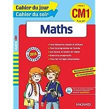 Cahier du jour/Cahier du soir Maths CM1 - Nouveau programme 2016