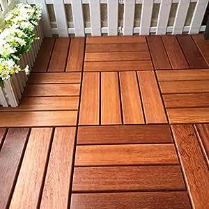 Piastrelle per esterno e da giardino piastrelle in legno pavimento per pavimento balcone - Piastrelle per balcone esterno ...