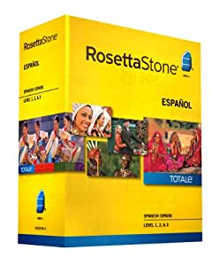 Rosetta Stone, Spanish (Spain) Version 4 TOTALe: Level 1, 2 & 3 (Mac/PC)