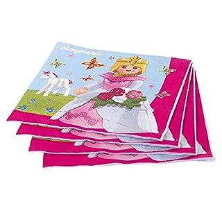 aucune 16 Paper Napkins with Playmobil Princesses Motif