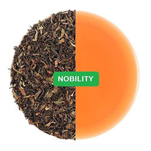 Nobility Regular Darjeeling Tea - Nobile Darjeeling Regolare - Tè sfuso puro Darjeeling non mescolato - Coltivato naturalmente in terra nell'Himalaya - Dimensioni : 200g / 7.05oz / 100cups