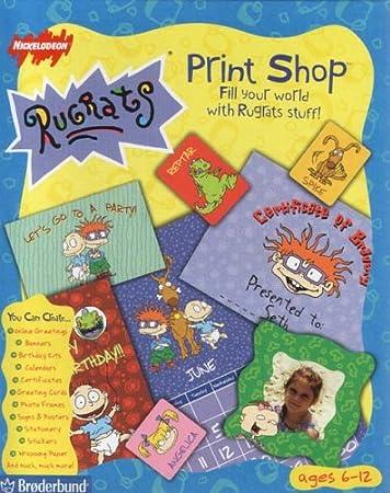Rugrats Print Shop