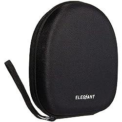 ELEGIANT Casque Étui, Casque Housse Coque Boîte Case Sacoche Poche Pochette Case Box Sac de Protection/Rangement d'Écouteurs pour Sony NC6 NC7 NC8 etc. (20 x 18 x 6 cm)