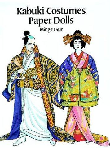 Kabuki Costumes Paper Dolls (Paper Doll Kostüm Handwerk)