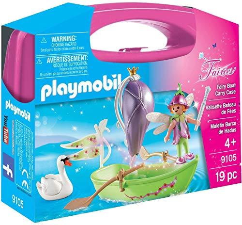 Playmobil- Maletín Barco de Hadas