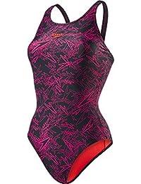 speedo Fit Laneback Swimsuit Damen blue//green 2019 Schwimmanzug blau