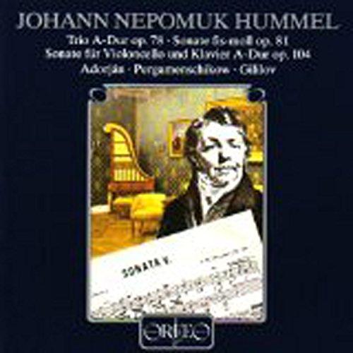Hummel: Chamber Sonatas