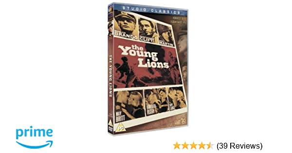 The Young Lions [DVD]: Amazon co uk: Marlon Brando