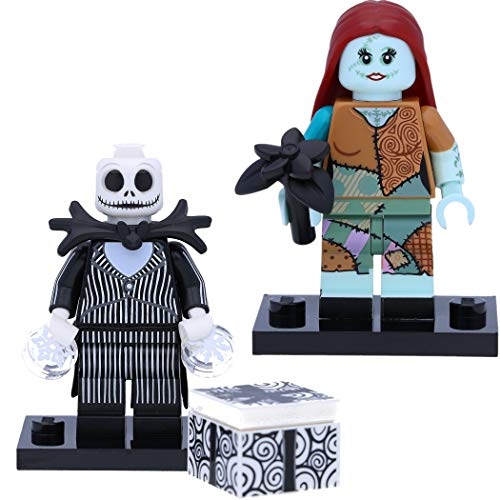 LEGO 71024 Disney Serie 2 Minifiguren: #15 Sally und #16 Jack Skellington (Nightmare Before Christmas)