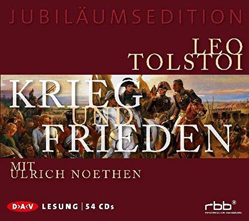 Buchseite und Rezensionen zu 'Krieg und Frieden' von Leo N. Tolstoi