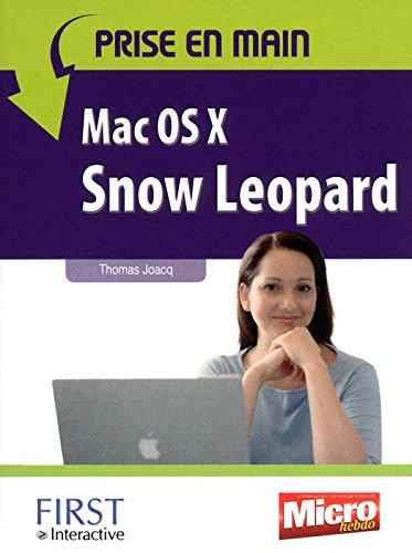PRISE EN MAIN MAC OS X SNOW LE