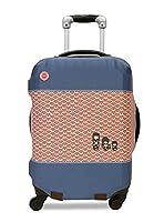 Dandy Nomad Housse de valise Kokeshi Bleu Pack Cover, 26 cm, Blue (Bleu)