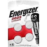 Energizer CR2025 Batterie al Litio, Confezione da 4
