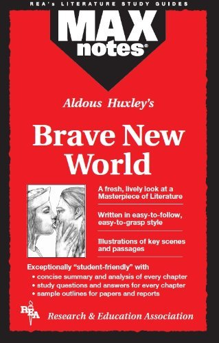 Brave New World (MAXNotes Literature Guides) by Sharon Yunker English Literature Study Guides(1995-06-12)