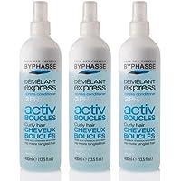 byphasse districante Express Activ orecchini per capelli ricci–Set di 3